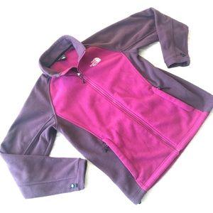 North Face khombu two-tone fleece